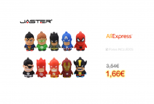 JASTER USB 2,0 Super hero Pen Drive