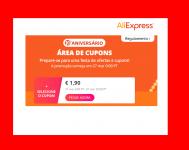 Cupões para o Aliexpress!