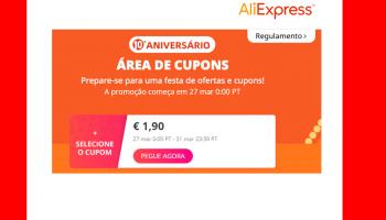 Cupões de seleção do Aliexpress