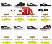 30% en zapatos Vans