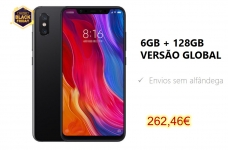 Xiaomi Mi8 VERSÃO GLOBAL128GB 262€