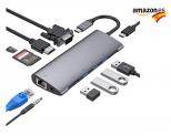 Hub USB C 11 en 1