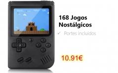 Gocomma 168 in 1 Nostalgic Handheld Game Console