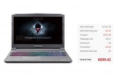 ThundeRobot ST Plus Gaming Laptop– Espanha