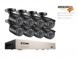 ZOSI CCTV Kit c/ 8 câmaras