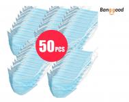 50PCS 3-Layer Protective Mask