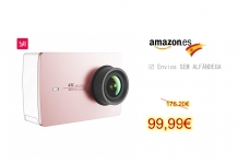 Xiaomi YI 4k Action Camera Pink