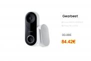 360 D819 AI Face Recognition WiFi Smart Video Doorbell