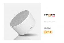 LyRay K15 Mini Fabric Wireless Speaker