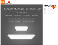 YEELIGHT YLMB05YL Smart LED Ceiling