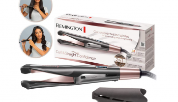 Remington Curl & Straight