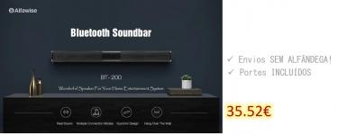 Alfawise BT – 200 Portable Wireless Bluetooth Soundbar