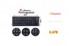 Keyboard stickers – Portuguese