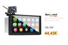 7 Inch Double Din Car MP5 Player