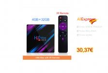 TV-Box H96 MAX Espanha