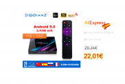 H96 MAX 32GB Espanha