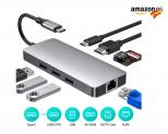RAYROW Hub USB C, 8 en 1