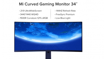 Xiaomi Curved Gaming monitor 34