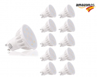 LOHAS Bombillas LED, GU10 6W, pack 10