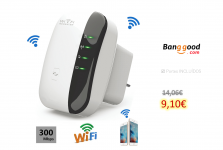 Bakeey 300M Wireless-N Wifi Repeater