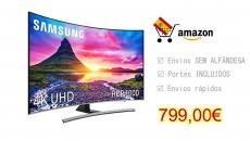 Samsung 55NU8505 – Smart TV de 55″ Curved