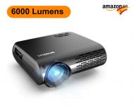 WiMiUS 6000 Lúmenes Proyector Full HD
