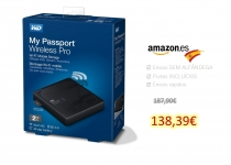 WD My Passport Wireless Pro – 2TB