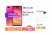 Xiaomi Mi8 Lite 128gb Europeu