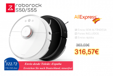 Xiaomi Roborock S50 S55 Robot Vacuum Cleaner