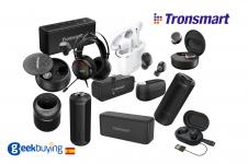 Produtos áudio da marca Tronsmart